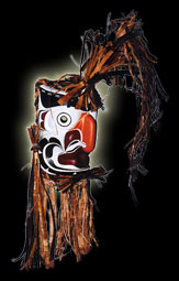 Native Indian Art - Grouse Mask